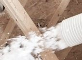 What 39 s the difference between blown in and batt insulation for Blown in mineral wool insulation