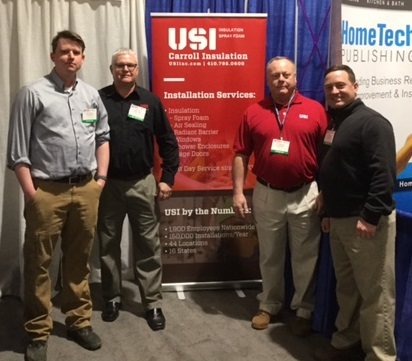 MBIA Builder Mart 2017 USI Carroll Insulation Team