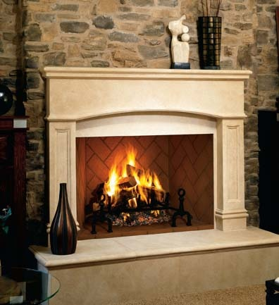 Fireplaces and fireplace-related amenities are popular additions